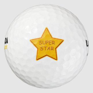 極度の星のウイルソン500ゴルフ・ボール ゴルフボール