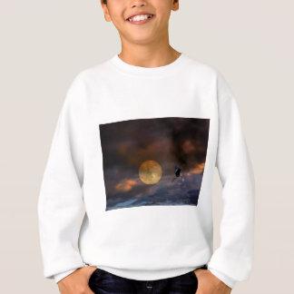 極度の月ハロウィン スウェットシャツ