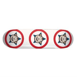 極度の猿のスケートボード21.6cm 21.6cm スケートボードデッキ