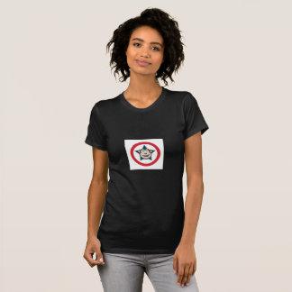 極度の猿の女性によって短いスリーブを付けられるティー Tシャツ