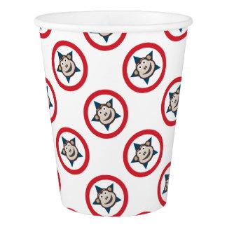 極度の猿の紙コップ 紙コップ