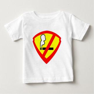 極度の禁煙の英雄 ベビーTシャツ