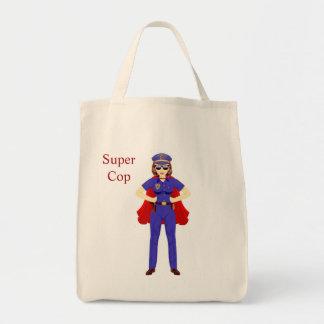 極度の警察官の食料雑貨のトート トートバッグ
