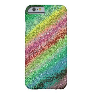極度の輝きの虹の携帯電話の箱 BARELY THERE iPhone 6 ケース