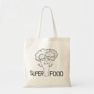 極度の食糧ブロッコリーのバッグ トートバッグ