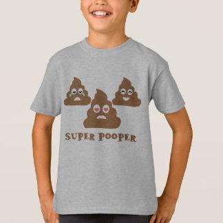 極度のPooper Emoji Tシャツ