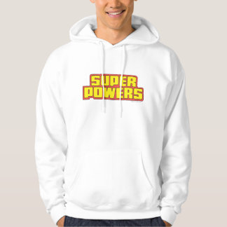 極度のPowers™のロゴの黄色 パーカ