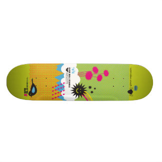 極度概念をリラックスして下さい: スケート! スケートボードデッキ