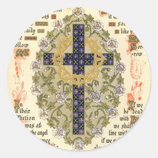 極彩色写本Septuagesimaのためのそして貸される ラウンドシール