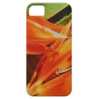 極楽鳥第9記念日のための花 iPhone SE/5/5s ケース