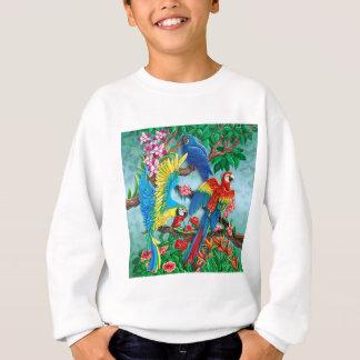 極楽鳥 スウェットシャツ