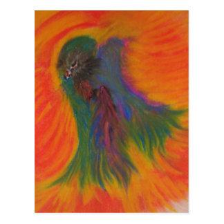 極楽鳥 ポストカード
