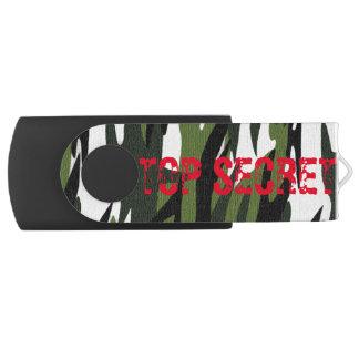 極秘の森林軍隊海軍カムフラージュのフラッシュドライブ USBフラッシュドライブ