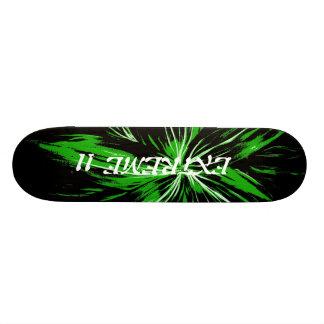 極端11の稲妻のスケート板 スケートボードデッキ