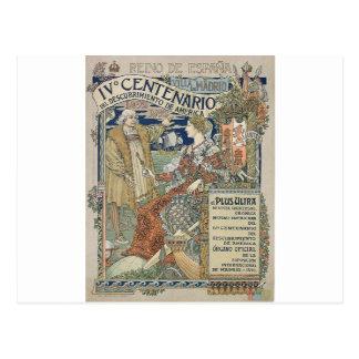 極致。 Eugène Grasset著レイーノdeエスパーニャ ポストカード