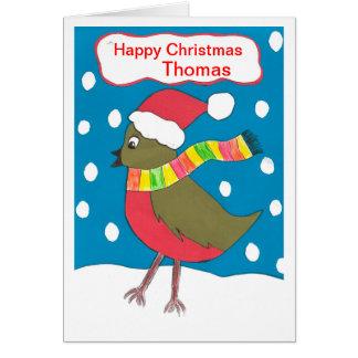 楽しいクリスマストマス カード
