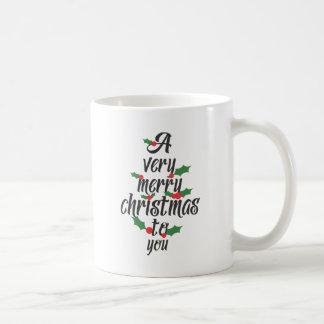楽しいクリスマス コーヒーマグカップ
