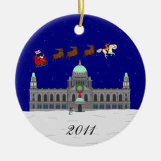楽しいクリスマス(ベルファスト市役所) セラミックオーナメント
