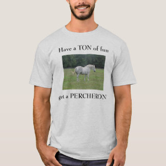 楽しい時のトンを過して下さい、PEを…得て下さい Tシャツ