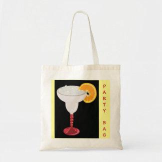 楽しい時間のパーティーのマルガリータのカクテルの飲み物のフルーツ トートバッグ