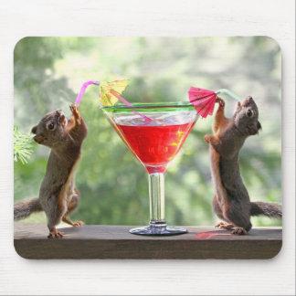 楽しい時間のリス マウスパッド