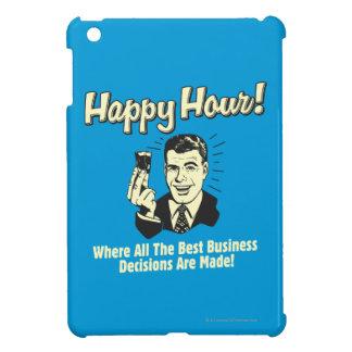 楽しい時間: 最も最高のなビジネスの意志決定はHappになされます iPad Mini Case