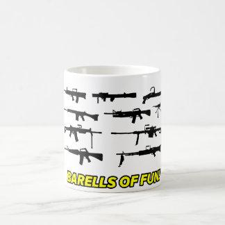 楽しみ銃のデザインのBarells コーヒーマグカップ