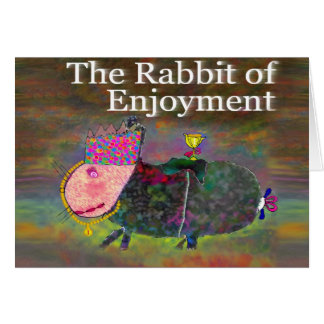 楽しみ[カード]のウサギ カード