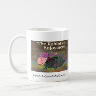 楽しみ[マグ]のウサギ コーヒーマグカップ