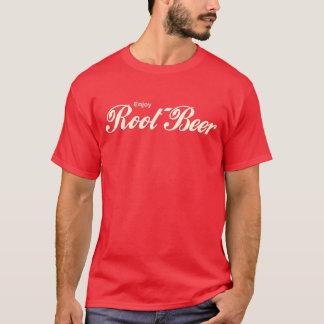 楽しむなルートビアのパロディのワイシャツ Tシャツ