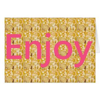 楽しむな生命!! カード