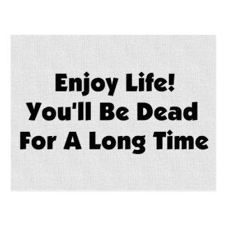 楽しむな生命 ポストカード