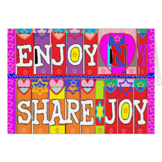 楽しむなnの共有の喜び。 Naveen Joshi著 カード