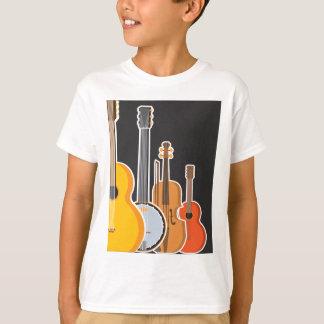 楽器のメドレー Tシャツ