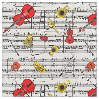 楽器の生地 ファブリック