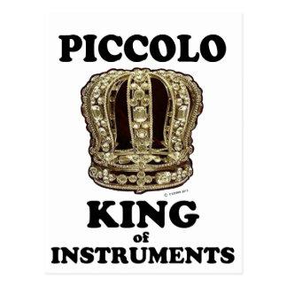 楽器のPiccolo王 ポストカード