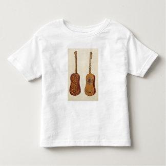 「楽器(coloureからのRizzioのギター、 トドラーTシャツ