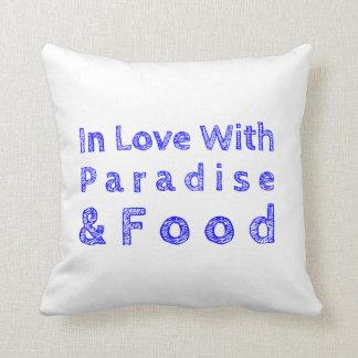 楽園および食糧枕 クッション