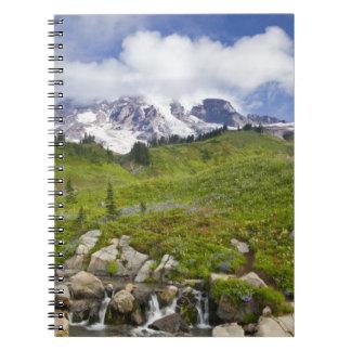 楽園のイーディスの入り江および野生の花草原 ノートブック