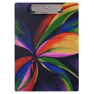 楽園のカラフルの抽象芸術の元の芸術のクリップボード クリップボード