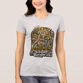 楽園のジャングルの生命 Tシャツ