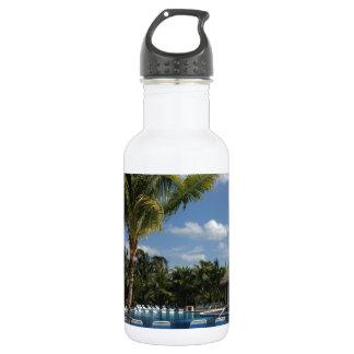 楽園のビーチ ウォーターボトル