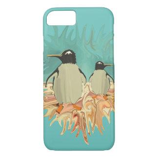 楽園のペンギン iPhone 8/7ケース