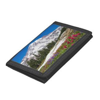 楽園のレーニア山の財布