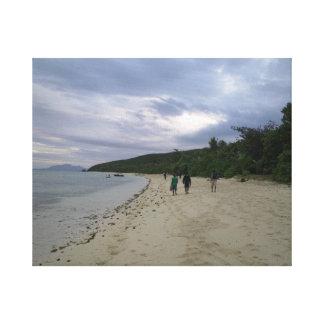 楽園の写真 キャンバスプリント