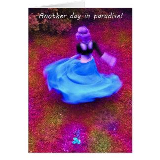 楽園の別の日 カード