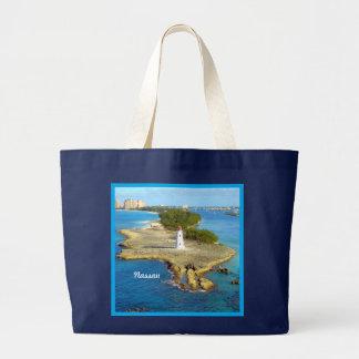 楽園の島ライトナッサウ ラージトートバッグ