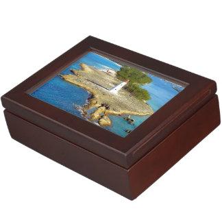 楽園の島ライト ジュエリーボックス