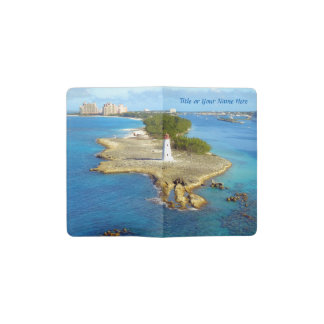 楽園の島ライト ポケットMoleskineノートブック