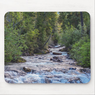 楽園の川、Mt. Rainerの国立公園 マウスパッド